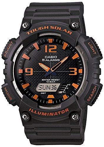 [カシオ] 腕時計 スタンダード ソーラー AQ-S810W-8AJF グレー