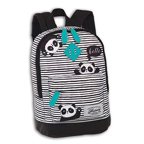 Bestway Rucksack Kinder Campus Kids Original Panda inkl. Feeanhänger ORI100S Polyester Rucksack