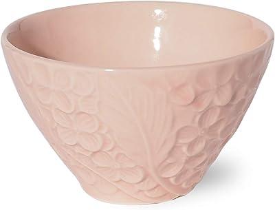 みのる陶器 美濃焼 バウハウス 茶碗 ピンク φ11.5×H7cm