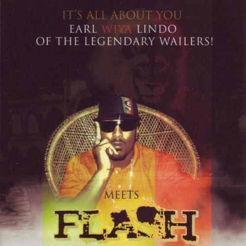 Earl Wiya Lindo (The Wailers) Meets Flash