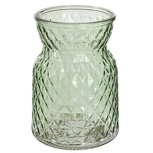 Jarrones Decorativos Cristal Verde jarrones decorativos  Marca AngraveHome