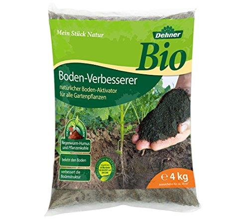 Dehner Bio Dünger, Bodenverbesserer für alle Gartenpflanzen, 4 kg, für ca. 20 qm