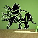 yaonuli Dinosaurio Pegatinas de Pared decoración del hogar Vinilo extraíble Mural Dormitorio 68X45cm