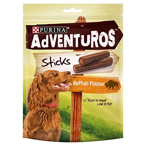 Adventuros Purina Buffalo Sticks Dog Treats 120g