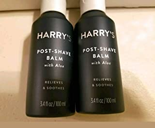 Harry's Men's Post Shave Balm w/ Aloe Full Size -SEALED 3.4 oz -each 2-Pack