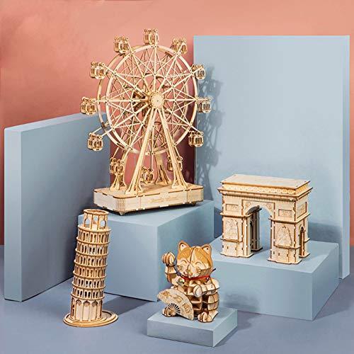 Chutoral Truck Modellbausatz Holz, DIY Holz Heavy Truck Modell Kits - 3D Holz Puzzle Bausatz Lernspielzeug für Erwachsene, Kinder, Jugendliche