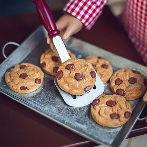 The Queen's Treasures 8 Piece Chocolate Chip Cookie Baking Set, Kitchen Food Bake Accessory Compatible with 18 Inch American Girl Dolls