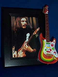Little Shop Guitars THE BEATLES GEORGE HARRISON Rocky Guitar Picture Frame