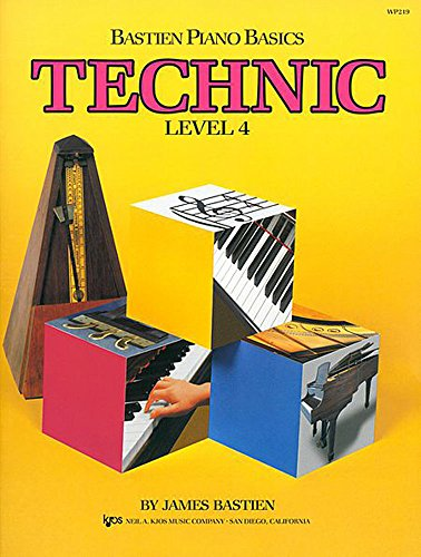 Bastien Piano Basics: Technic Level 4: Noten für Klavier