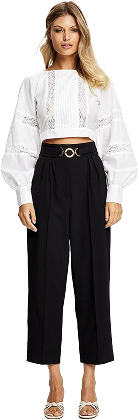 Alice McCall BNWT Black Amalfi Coast Pants $295 US RRP Size 0 Max 67% OFF Limited time for free shipping -