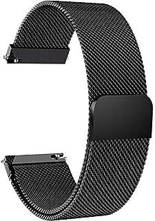 premium selection 78794 31d86 Fullmosa 14mm 16mm 18mm 19mm 20mm 22mm 24mm Bracelet Montre pour Homme Femme,  6