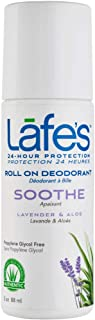 All Natural Roll On Deodorant Lavender 3 Ounce Liquid