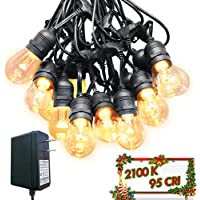 AVEVA 48ft 2100k-95 Index IP65 LED Outdoor String Lights