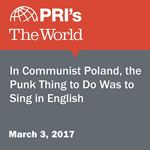In Communist Poland, the Punk Thing to Do Was to Sing in English audiobook cover art