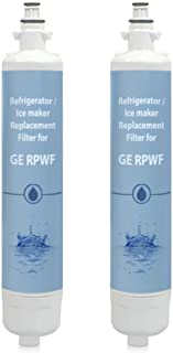 Replacement Water Filter for GE PFE28KSKBSS / PFE28RSHBSS Refrigerator Models (2 Pack)