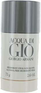 Giorgio Armani Acqua Di Gio For Men Deodorant, Alcohol Free TEJ