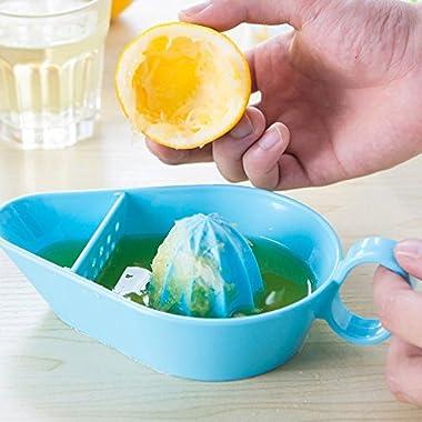 Germany Seltman unique design/Lemon Squeezer/Citrus press Juicer / Lime Juicer / Citrus Press with filter hole (blue)