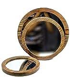 Nagina International Antik Rustikal Vintage Stil Boho Chic Spiegel 3er Set | Nachhaltige Holz & Glas...