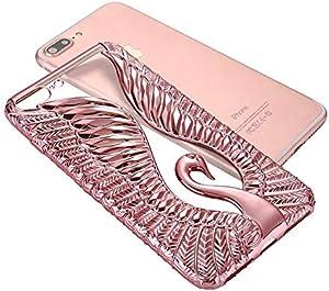 Swan Love Series for Apple 7 Mobile Phone Shell