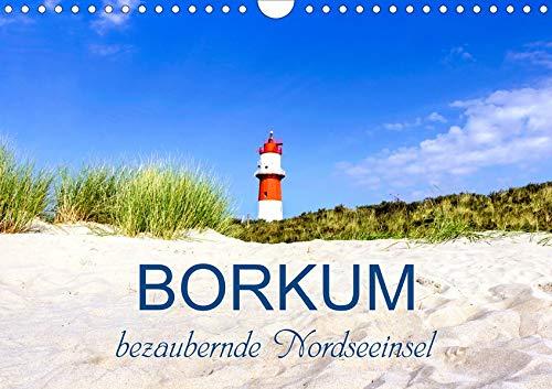 Borkum, bezaubernde Nordseeinsel (Wandkalender 2020 DIN A4 quer): Berauschende Augenblicke der Nordseeinsel (Monatskalender, 14 Seiten ) (CALVENDO Orte)