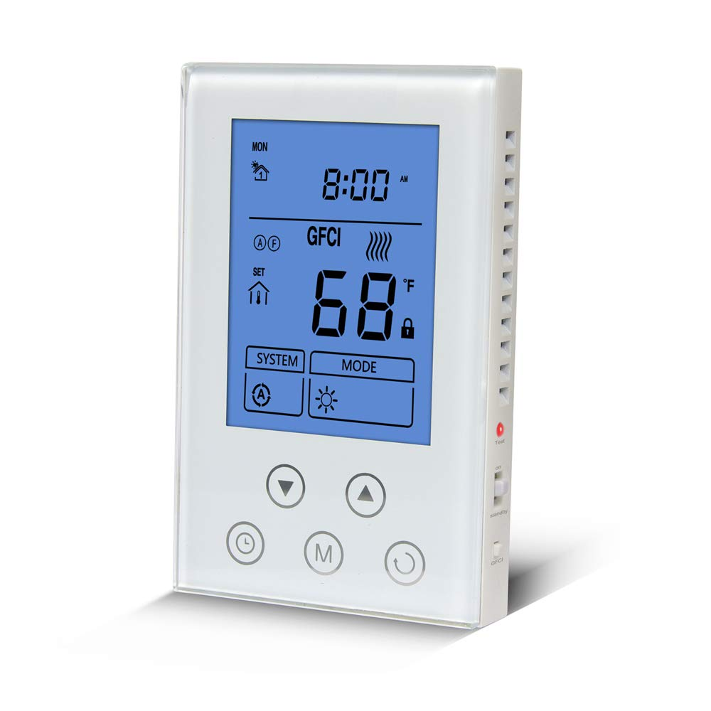 Underfloor Heating Thermostat Voltage Programmable