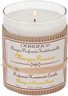 Durance de Provence Hand Crafted Scented Candle - Mango & Passion Fruit