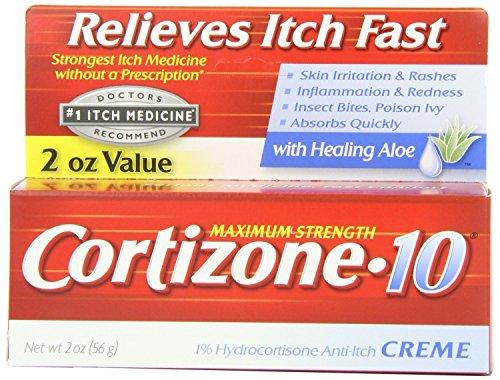 Cortizone-10 Anti-Itch Creme With Healing Aloe Maximum Strength, 2 oz