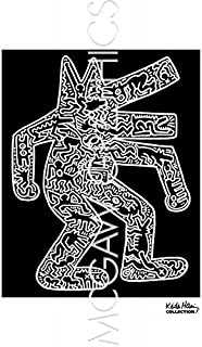 Dog, 1985 by Keith Haring, Art Print Poster 14