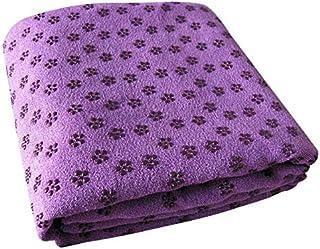 """Yoga Mat Towel-Microfiber Hot Yoga Fitness Towel-Non Slip Sweat Absorbent Super Soft 24"""" x 72"""""""