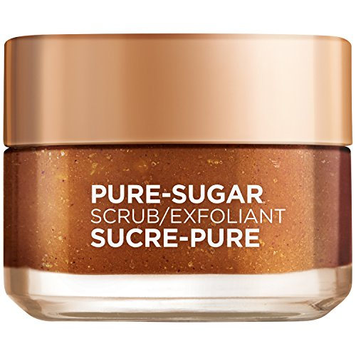 L'Oreal Paris Pure-sugar Brightening & Refreshing Face & Lip Scrub for Dull...
