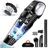 Handheld Vacuum, HOKEKI 6KPA Cordless Hand Portable Vacuum Cleaner Rechargeable Hand Vac, LED Light 120W Stronger...