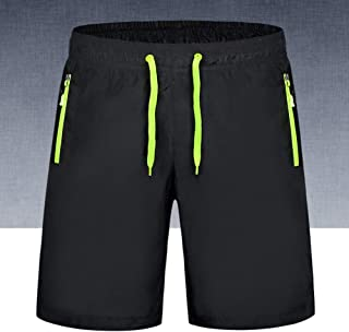 MeterMall Men Women Casual Outdoor Beach Sports Shorts Middle Length Pants for Summer