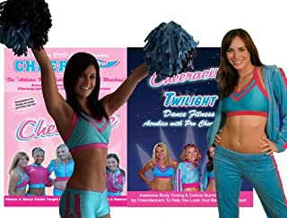 Cardio Dance Combo by Cheeracise - Buy Cheer Like a Pro at the Sale Price of $29.95 and Receive Cardio Dance Fitness Pro Cheerleading Style FREE!