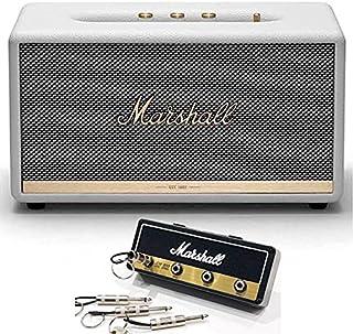 Marshall マーシャル Stanmore2 ホワイト スピーカー + Marshall ロゴ入りキーハンガー セット 《国内正規品》