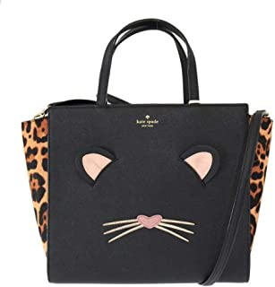 Kate Spade New York Run Wild Leopard Hayden Top-Handle Womens Shoulder Bag