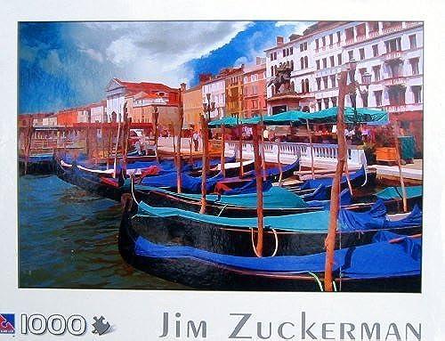 producto de calidad Sure-Lox 1000pc. Jim Jim Jim Zuckerman Puzzle-Gondolas  oferta especial