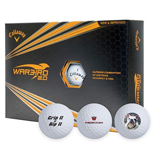 Callaway Warbird 2.0 Custom Personalized Golf Balls