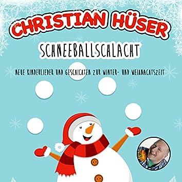 Schneeballschlacht - Neue Kinderlieder und Geschichten zur Winter- und Weihnachtszeit