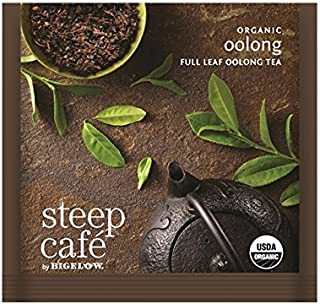 Steep Cafe Organic Oolong Tea Bags by Bigelow, 50 Count Box