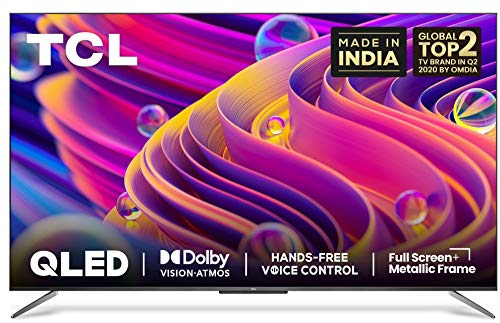 TCL 65 inches 4K Ultra HD Certified Android Smart QLED TV