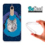 BeCool Funda Gel Flexible para Wiko View XL, Carcasa TPU Fabricada con la Mejor Silicona,...