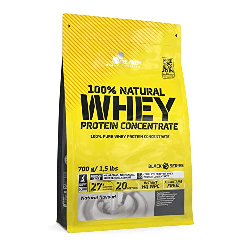 Olimp Natural Whey Protein Concentrate 100% Neutral, 1er Pack (1 x 700 g)