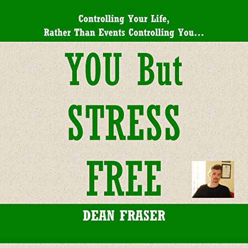 You but Stress Free audiobook cover art