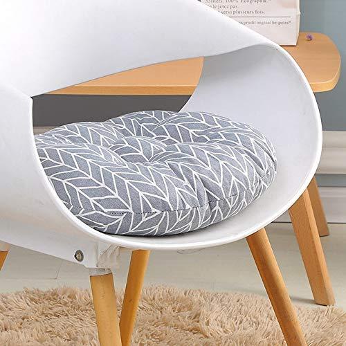 RAQ Zitkussen voor bureaustoel, zitkussen voor computerstoel, rond kussen, sofakussen, traditioneel zitkussen voor studenten 50x50cm Rood