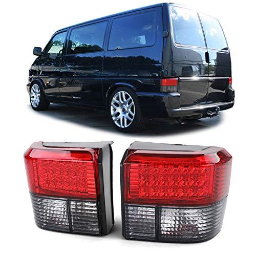 Carparts-Online 11950 LED Rückleuchten rot schwarz
