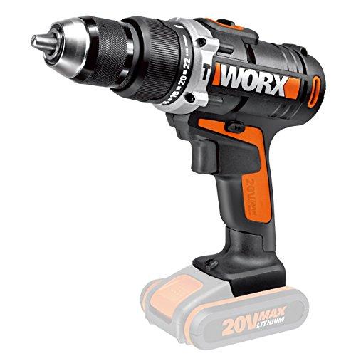 Worx WX372.9 - Taladro percutor 20V (sin batería)