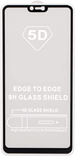5D Screen Protector for Oppo F7, Black