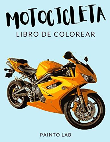Motocicleta Libro de Colorear : Libro de Colorear di Moto, Más de 30 Páginas Para Colorear, Chopper, Crucero, Supermoto, Trial, Deportiva, Scooter ...  Horas de Diversión Garantizadas