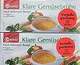 Cenovis Klare Gemüsebrühe nach schweizer Rezept, 2 x 48 Würfel