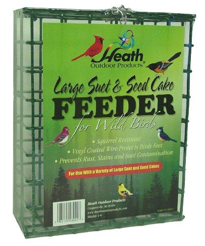 Heath Outdoor Products Futterstation für Talg- und Samenkuchen, Größe S-4